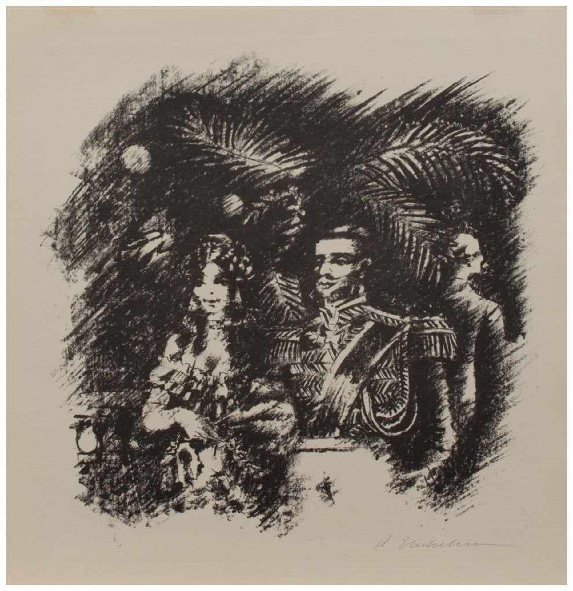 Los 31 - Ramòn Neckelmann (Hamburg 1907 - 2000 ebenda, deutscher Maler u. Grafiker, Std. i. Paris u.