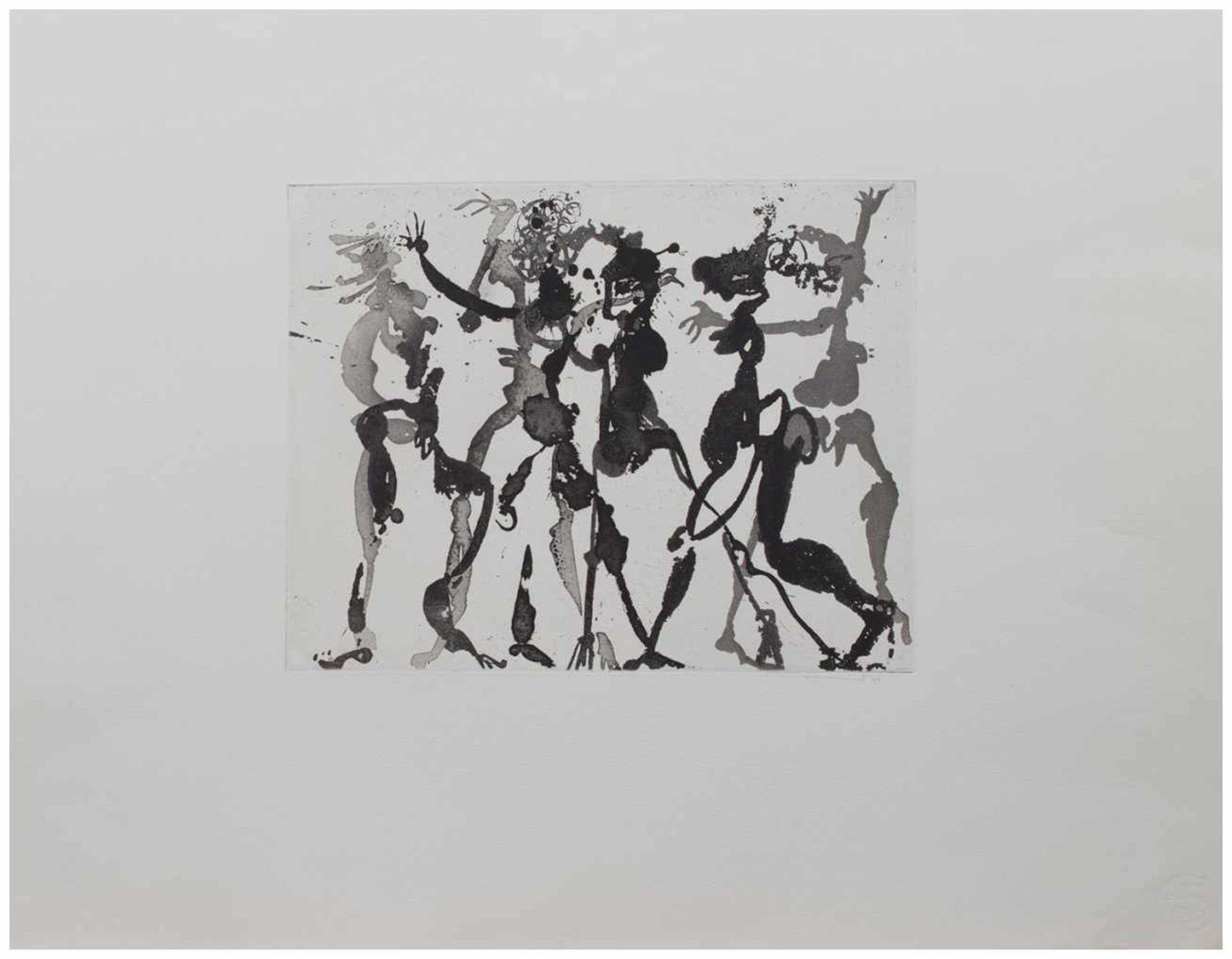 Los 35 - Armin Sandig (Hof/ Saale 1929 - 2015 Hamburg, deutscher Maler u. Grafiker, Autodidakt, beeinflusst