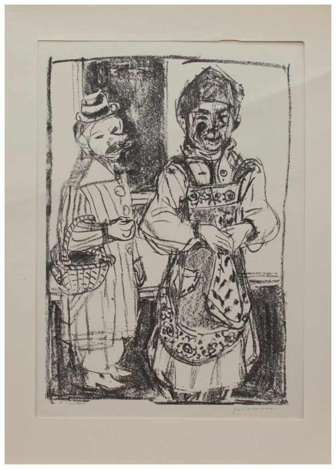 Los 28 - Wilhelm Grimm (Eberstadt 1904 - 1986 Hamburg, deutscher Maler u. Grafiker, Std. a.d. Werkkunstschule