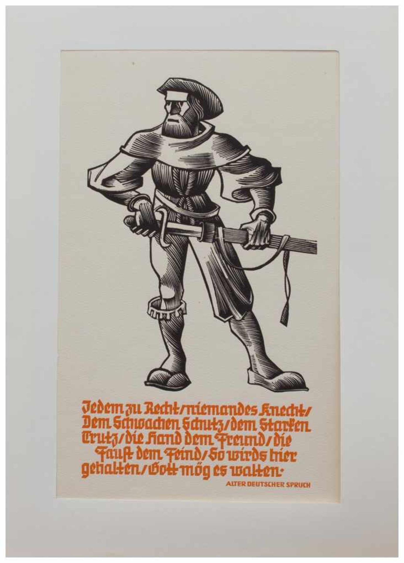 Los 22 - Ernst v. Dombrowski (Emmersdorf 1896 - 1985 Siegsdorf, österr. Maler u. Holzschneider,
