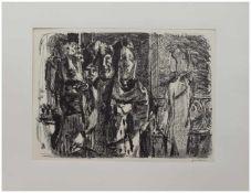 Wilhelm Grimm (Eberstadt 1904 - 1986 Hamburg, deutscher Maler u. Grafiker, Std. a.d. Werkkunstschule