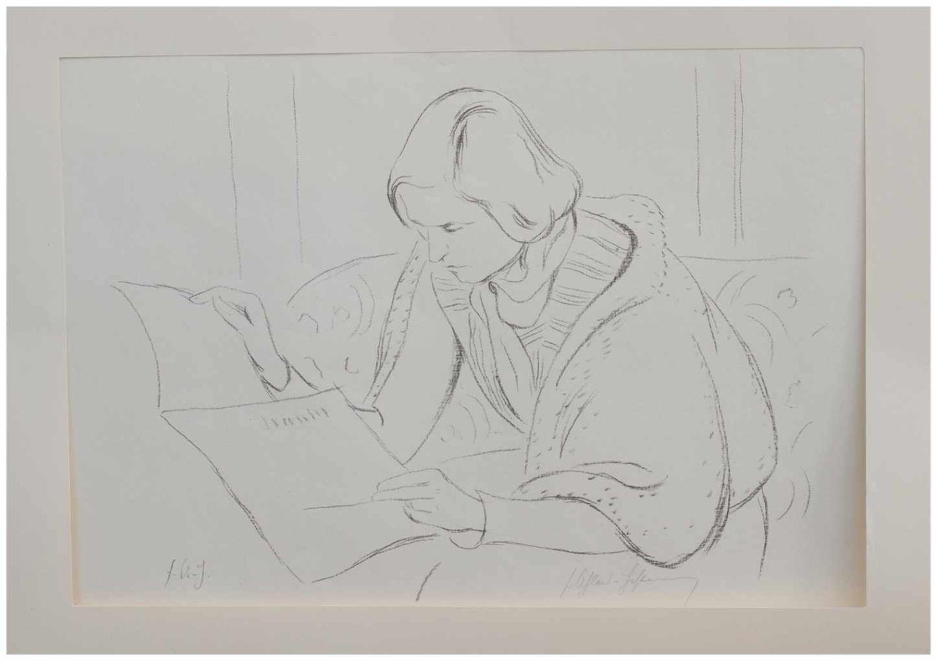 Los 51 - Friedrich Ahlers-Hestermann (Hamburg 1883 - 1973 Berlin, deutscher Maler u. Kunstschriftsteller,