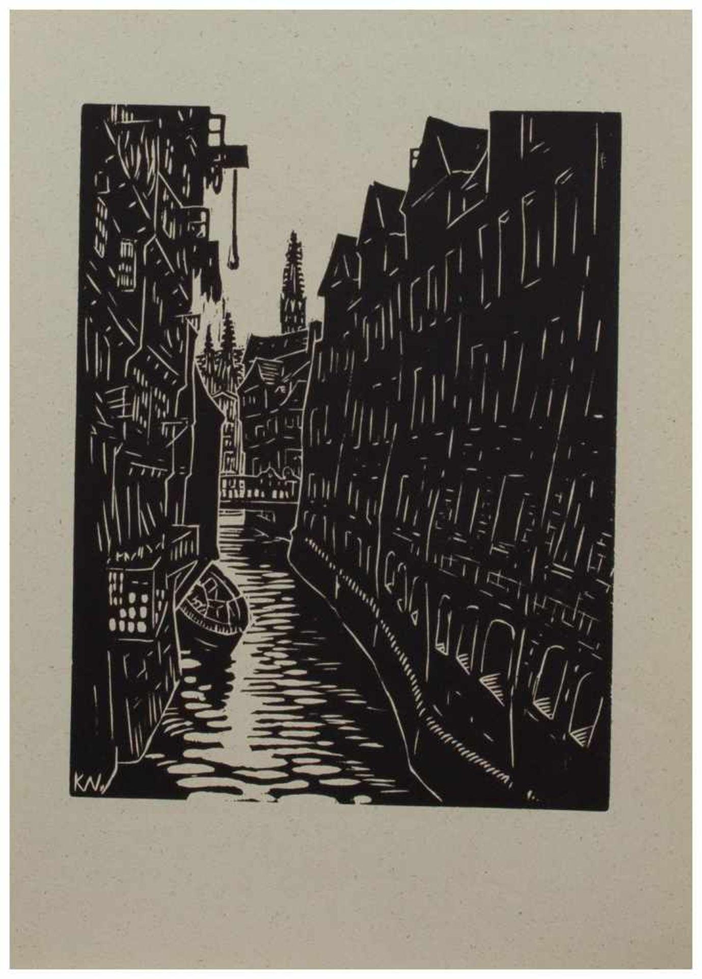 Los 8 - Klaus Wrage (Malente-Gremsmühlen 1891 - 1984 Eutin-Fissau, deutscher Maler u. Grafiker, entstammt
