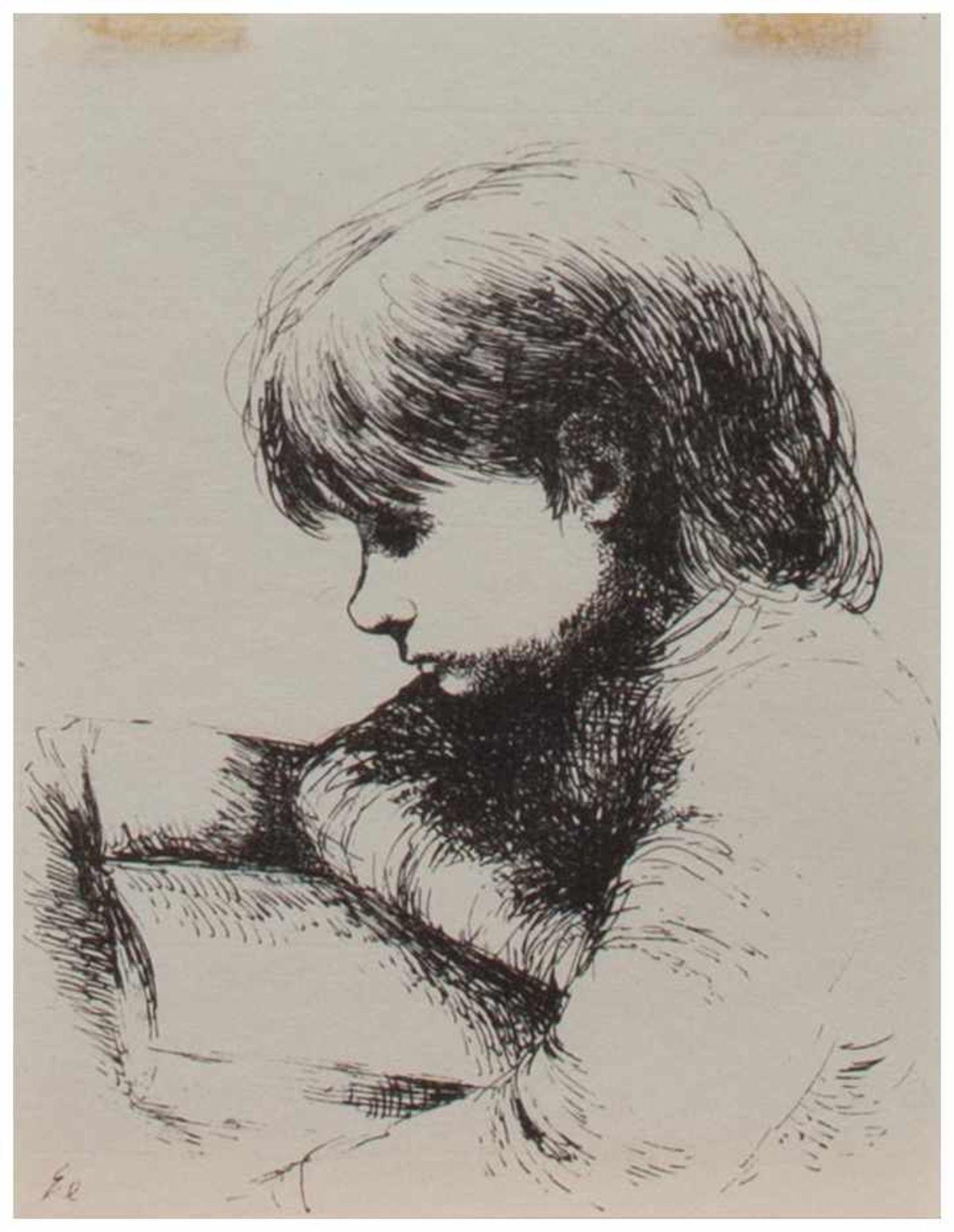 Los 33 - Hanna Nagel (Heidelberg 1907 - 1975 ebenda, Zeichnerin, Graphikerin u. Illustratorin, Std. i.