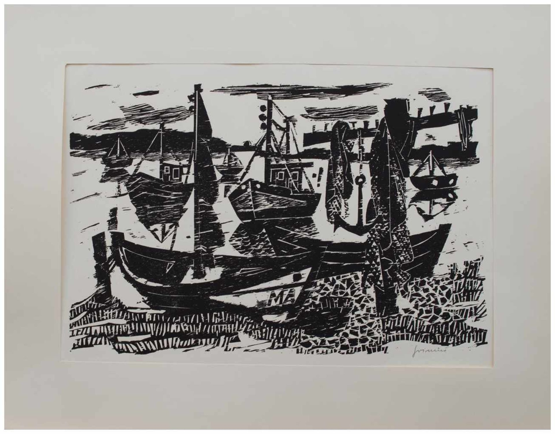Los 36 - Wilhelm Grimm (Eberstadt 1904 - 1986 Hamburg, deutscher Maler u. Grafiker, Std. a.d. Werkkunstschule