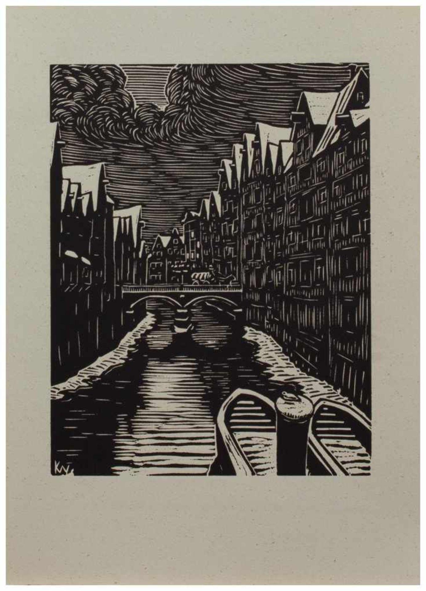 Los 9 - Klaus Wrage (Malente-Gremsmühlen 1891 - 1984 Eutin-Fissau, deutscher Maler u. Grafiker, entstammt