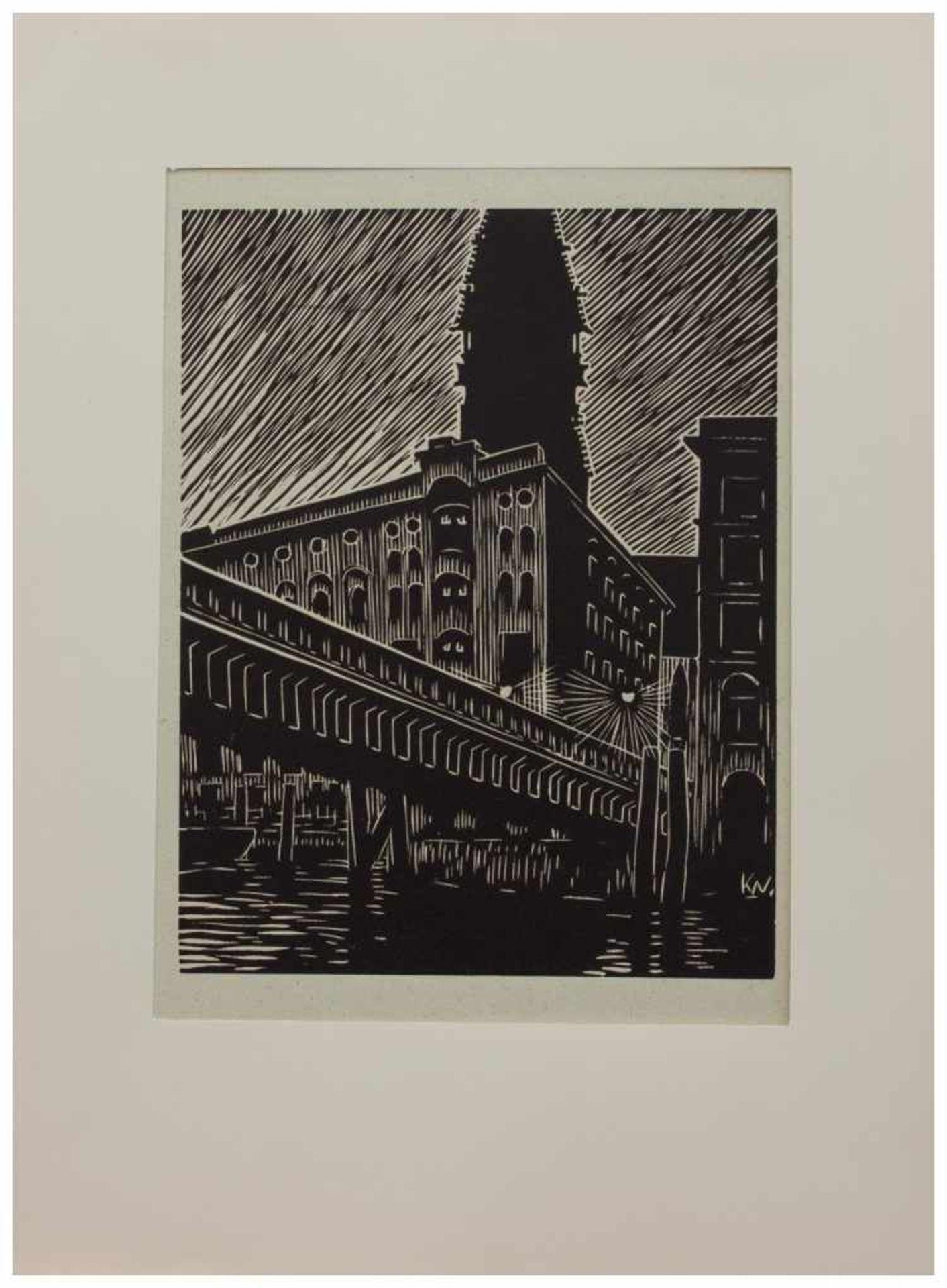 Los 6 - Klaus Wrage (Malente-Gremsmühlen 1891 - 1984 Eutin-Fissau, deutscher Maler u. Grafiker, entstammt