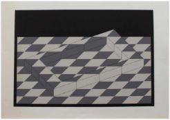 Erwin Heerich (Kassel 1922 - 2004 Meerbusch, deutscher Künstler, Std. a.d. Kunstgewerbeschule Kassel