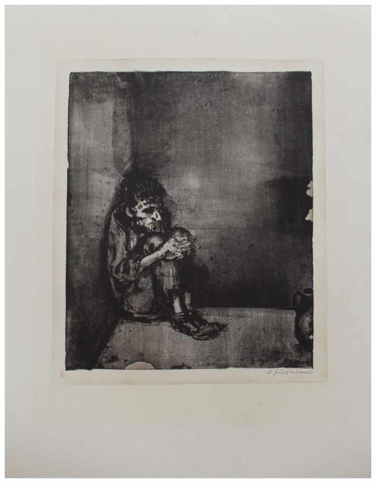 Los 39 - Andreas Paul Weber (Arnstadt 1893 - 1980 Schretstaken, deutscher Lithograph, Zeichner u. Maler,