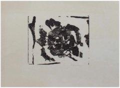 """Hartmut Frielinghaus (1937 - 1995 Hamburg, deutscher Grafiker, Drucker Horst Janssen`s, genannt """""""