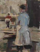 Elsa Sturm-Lindner (Dresden 1916 - 1988 ebenda, deutsche Tier-, Bildnis- u. Theatermalerin, Std. a.