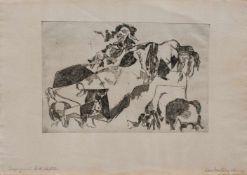 Oskar Matulla (Wien 1900 - 1982 Wien, österreichischer Maler und Grafiker, Std. a.d.