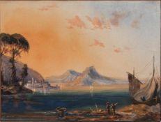 Johannes Brasch (Schleswig 1842 - 1926 (?), deutscher Landschaftsmaler u. Zeichner, Std. a.d. AK