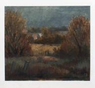 R. Scheel (norddeutscher Landschaftsmaler u. Grafiker) Landschaft im Frühling Öl/ Leinwand, 35 x