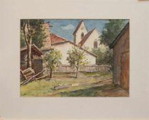 Eugen Franz Renwart (Bozen/ Tirol 1885 - 1968 München, deutscher Landschaftsmaler, Besuch privater