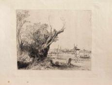 Rembrandt Harmenszoon van Rijn (Leiden 1606 - 1669 Amsterdam, gilt als einer der bedeutendsten und