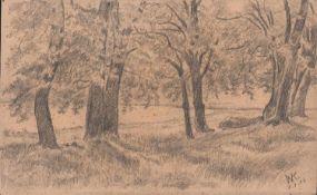 Walther Klemm (Karlsbad/ Österreich-Ungarn 1883 - 1957 Weimar, deutscher Maler, Grafiker u.
