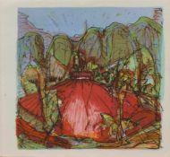 Ronald Paris (Sondershausen/ Thüringen 1933 -, deutscher Maler u. Grafiker, Std. a.d. KH Berlin-
