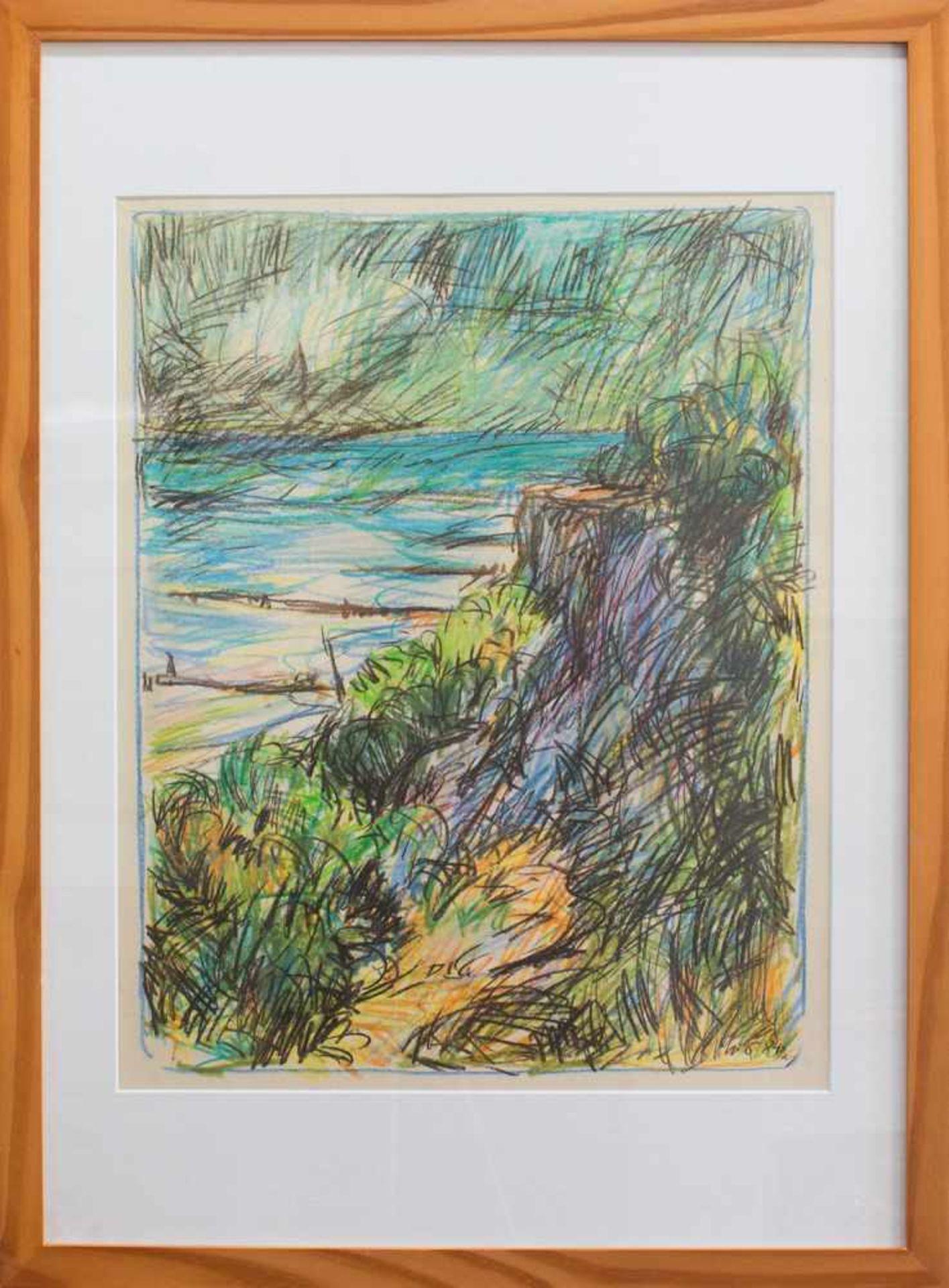 Hannes Meier (Chemnitz 1936 - 1990 Schwerin, deutscher Maler u. Grafiker, St. a.d. AK f. Bildende