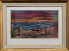 Carl Lohse (Hamburg 1895 - 1965 Bischofswerda, deutscher expressiver Maler, Ausbld. a.d. Staatl.