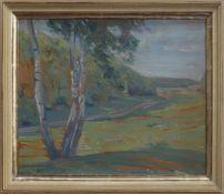 Dora Koch-Stetter (Bayreuth 1881 - 1968 Ahrenshoop, expressionistische Landschafts- u.