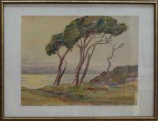 Theodor Schultze-Jasmer (Oschatz 1888 - 1975 Prerow, deutscher Maler, Grafiker u. Fotograf, Std. a.