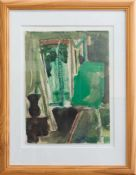 Dieter Goltzsche (Dresden 1934 -, deutscher Maler, Grafiker u. Kunstprofessor, Std. a.d. HS f.