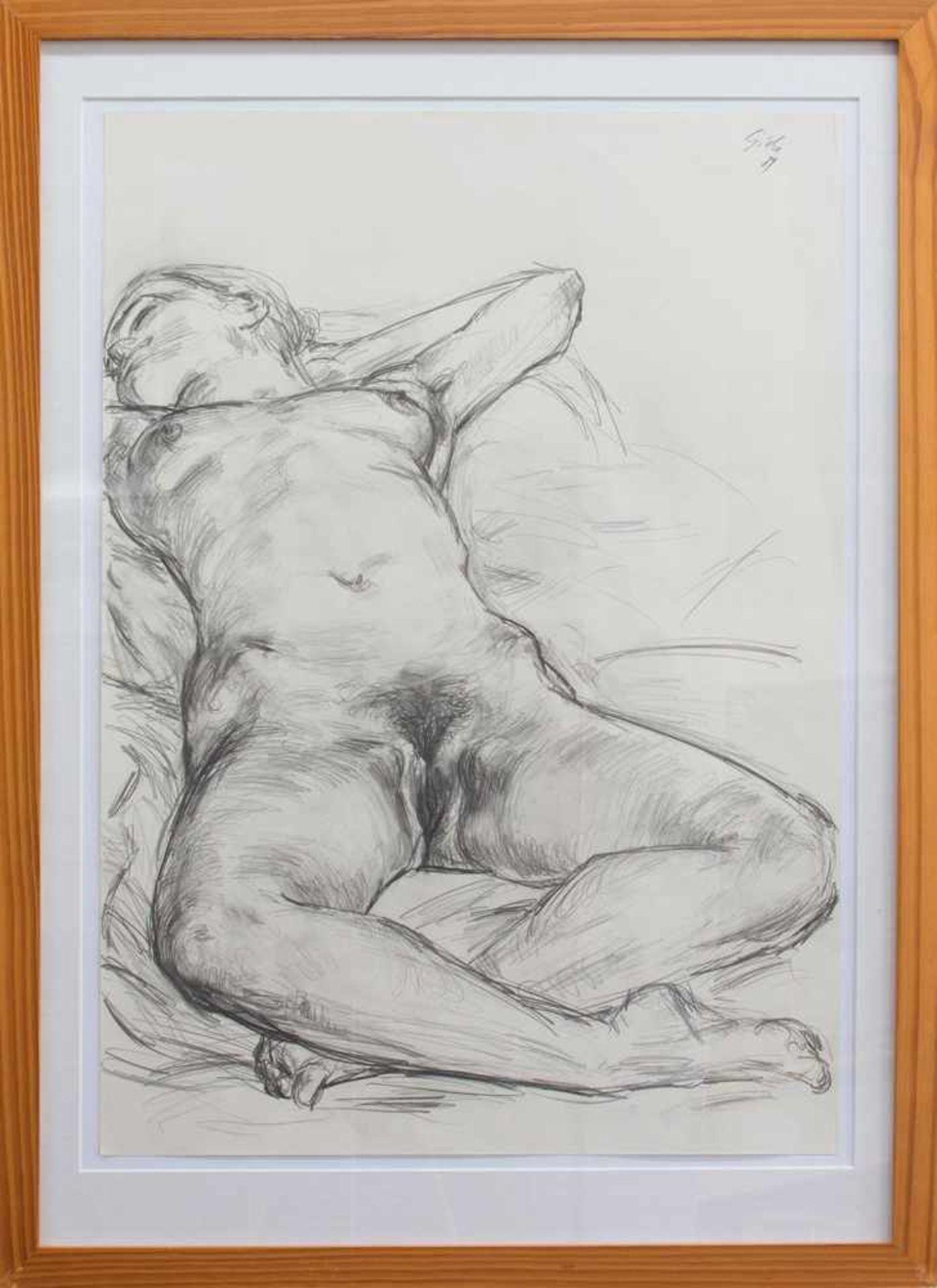 Hubertus Giebe (Drohna 1953 -, deutscher Maler u. Grafiker, a.d. HS f. Bildende Künste Dresden u.