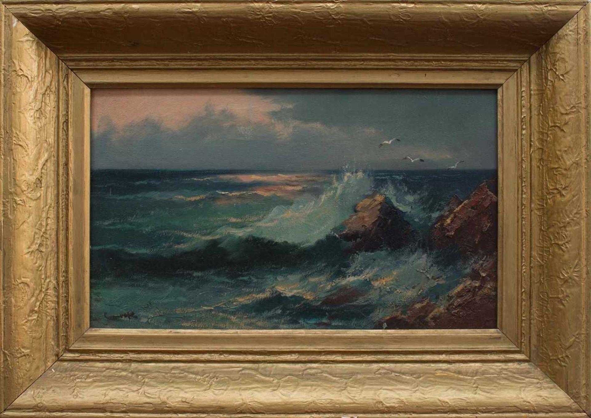 Leonhard Sandrock (Neumarkt/ Schlesien 1867 - 1945 Berlin, deutscher Maler u. Radierer, zunächst