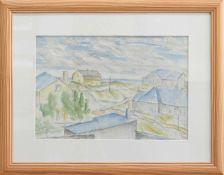 Hellmuth Mueller-Leutert (Gießen 1892 - 1973 ebenda, Maler, Graphiker u. Bildhauer, Std. a. d. KS