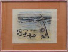 Siegward Sprotte (Potsdam 1913 - 2004 Kampen/Sylt, Landschafts-, Marine- u. Bildnismaler, Std. bei