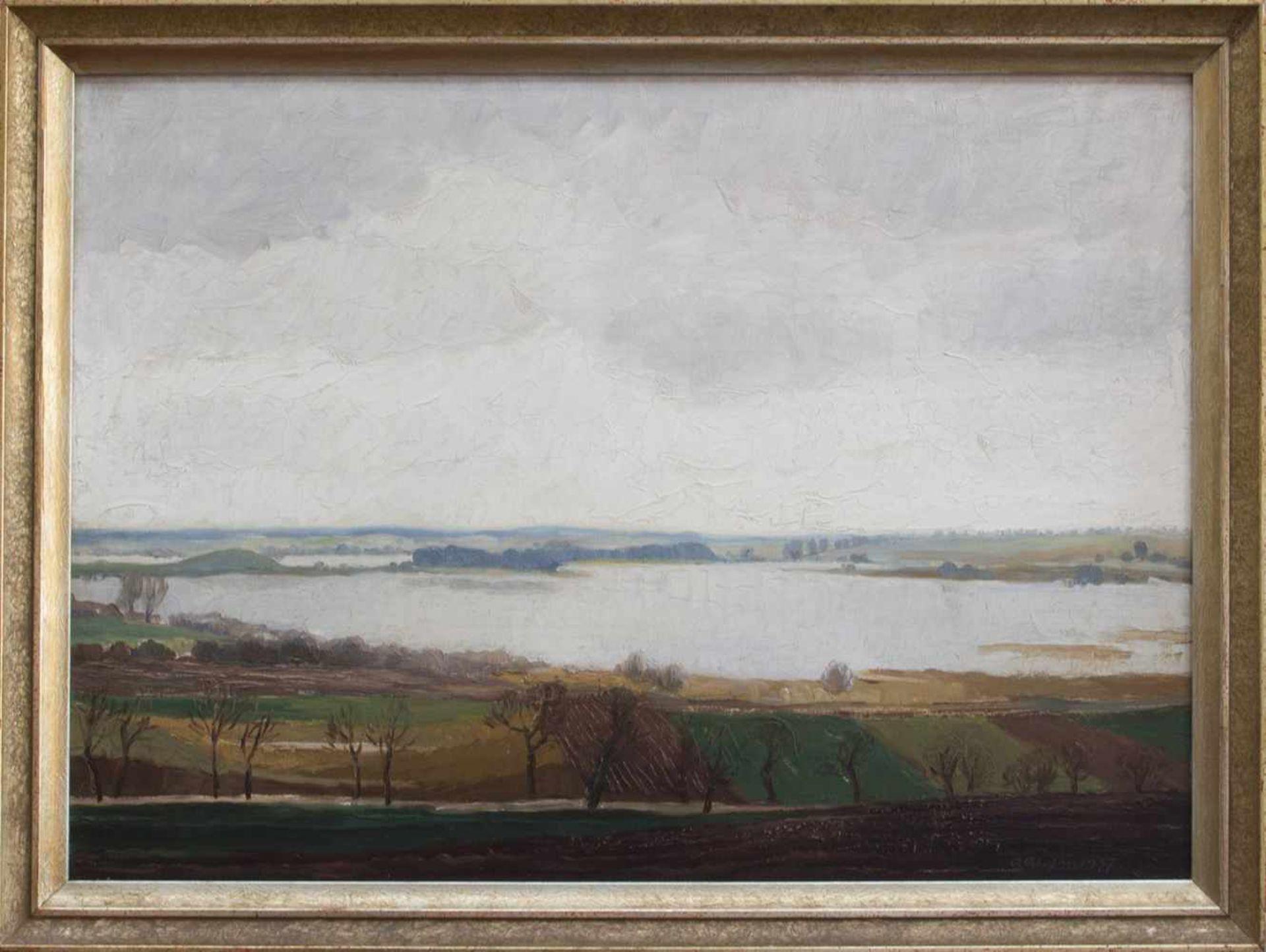 Karl Christian Klasen (Güstrow 1911 - 1945 bei Königsberg, deutscher Maler u. Zeichner, Std. a.d. AK