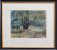 Anna Gerresheim (Ribnitz 1852 - 1921 Ahrenshoop, deutsche Landschafts- u- Bildnismalerin, Std. a.