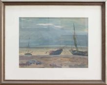 Erich Theodor-Holtz (Storkow 1885 - 1956 Wustrow/Fischland, deutscher Landschafts-, Bildnis- u.