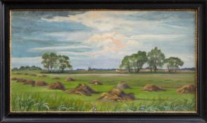 Thuro Balzer (Weißhof 1882 - 1967 Hannover, Landschaftsmaler u. Grafiker, Std. a.d. AK f. Kunst u.