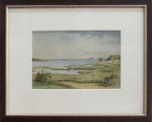 Franz Bunke (Schwaan 1857 - 1937 Weimar, deutscher Landschaftsmaler, Std. a.d. AK Berlin u.