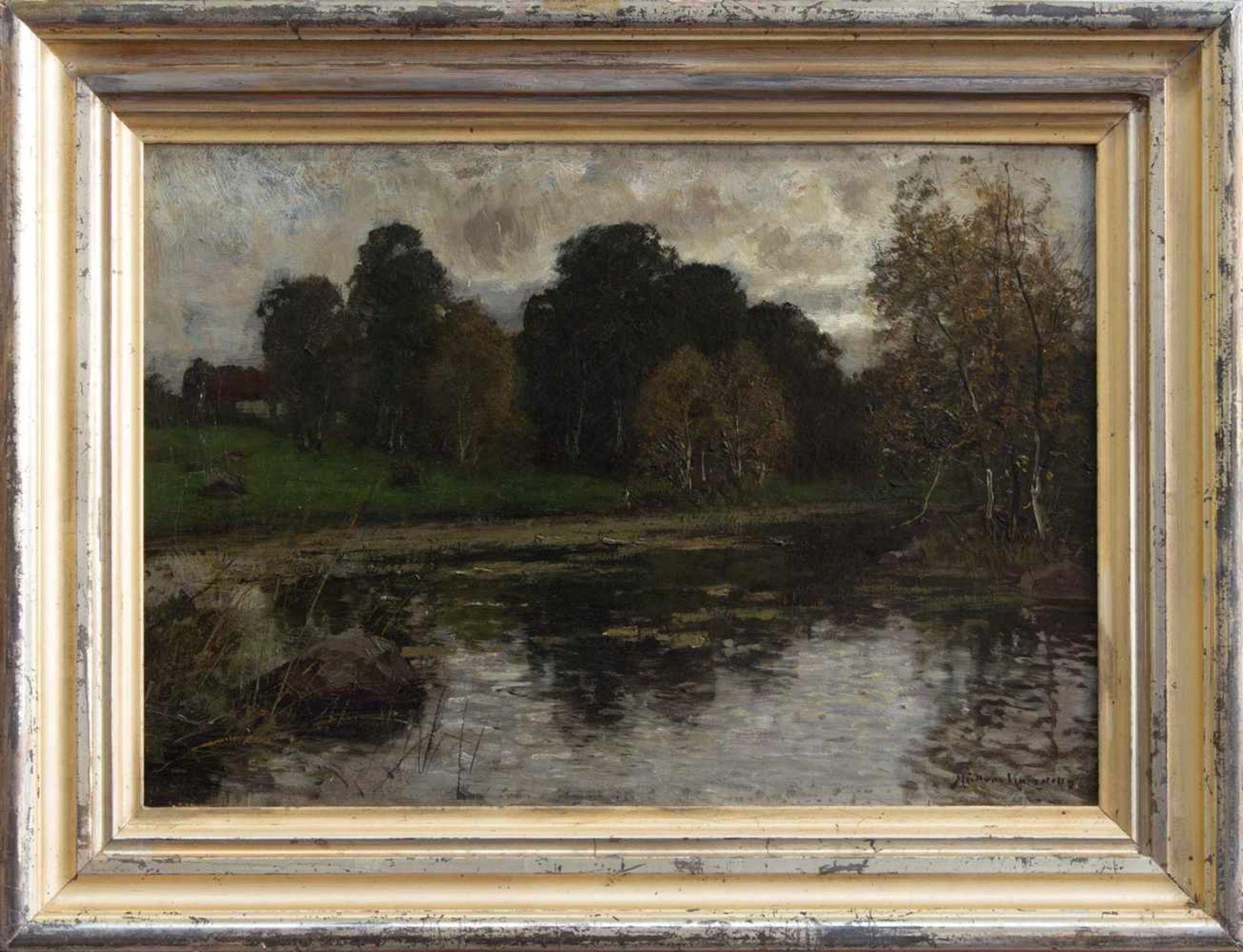 Konrad Müller-Kurzwelly (Chemnitz 1855 - 1914 Berlin, deutscher Maler, Std. a.d. Berliner AK,