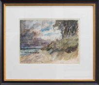Fritz Möller-Schlünz (Schwaan 1900 - 1990 Lübeck, deutscher Landschaftsmaler u. Sänger, Std. a.d.