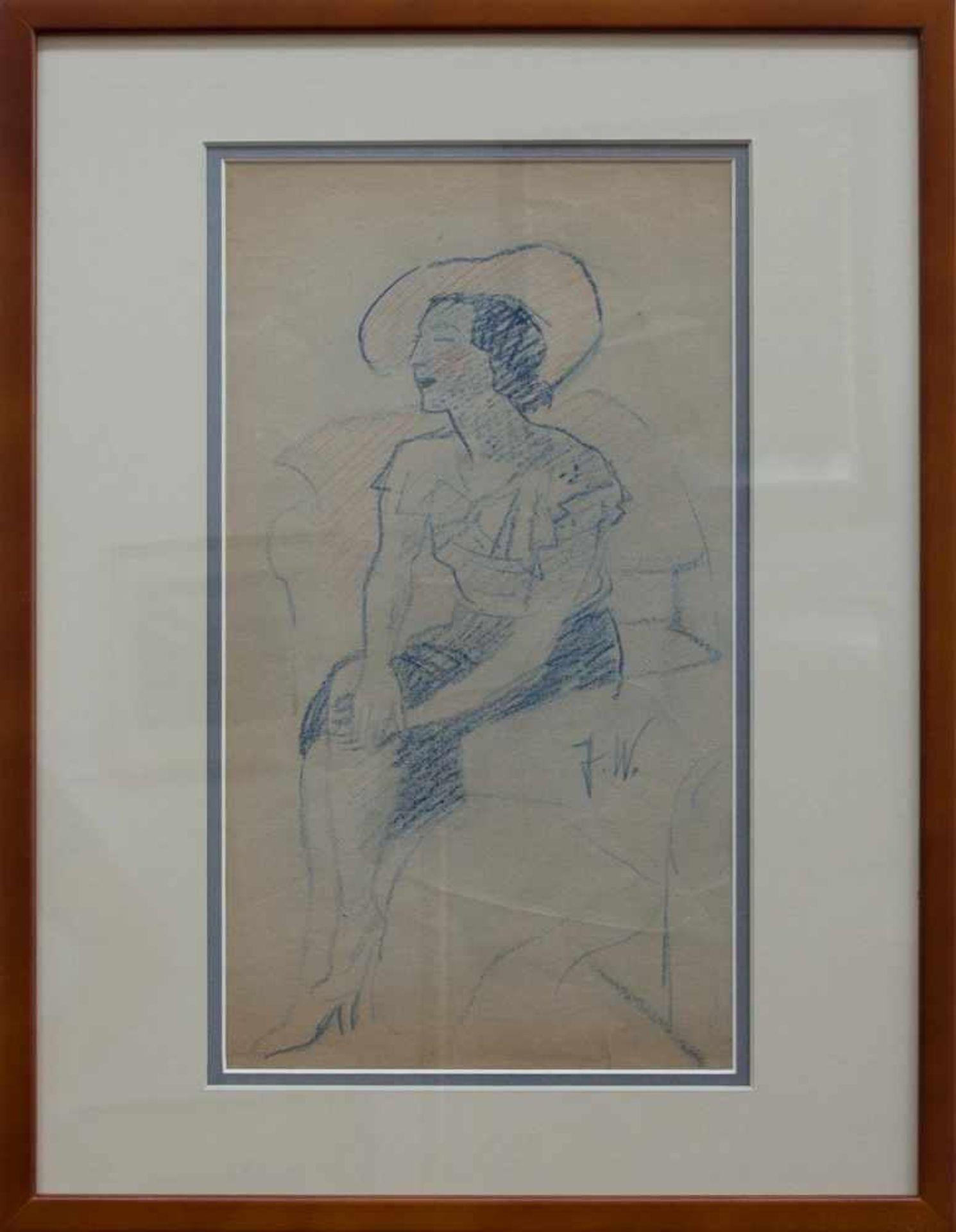 Julie Wolfthorn (Thorn 1864 - 1944 Theresienstadt, deutsche Malerin u. Grafikerin, Std. in Berlin,