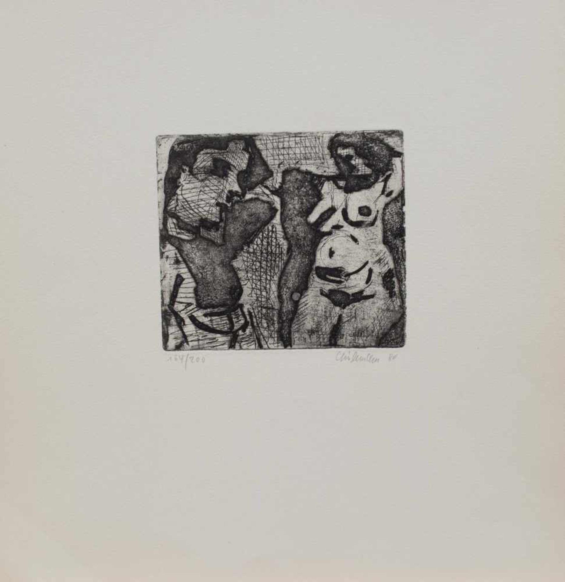 Los 25 - Rolf Lindemann (Magdeburg 1933 -, deutscher Maler u. Grafiker, Std. a.d. HS für Bildende u.
