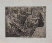 Roland Dörfler (Silberbach 1926 - 2010 Braunschweig, deutscher Maler u. Grafiker, Std. a.d. AK