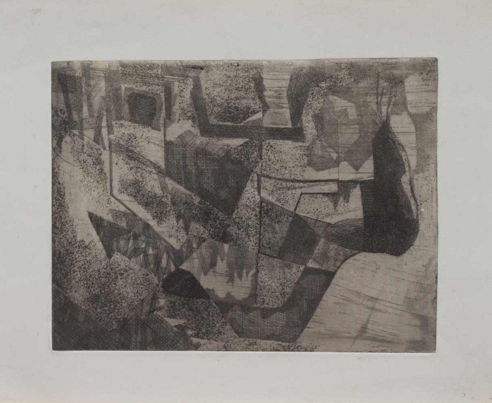 Los 10 - Roland Dörfler (Silberbach 1926 - 2010 Braunschweig, deutscher Maler u. Grafiker, Std. a.d. AK