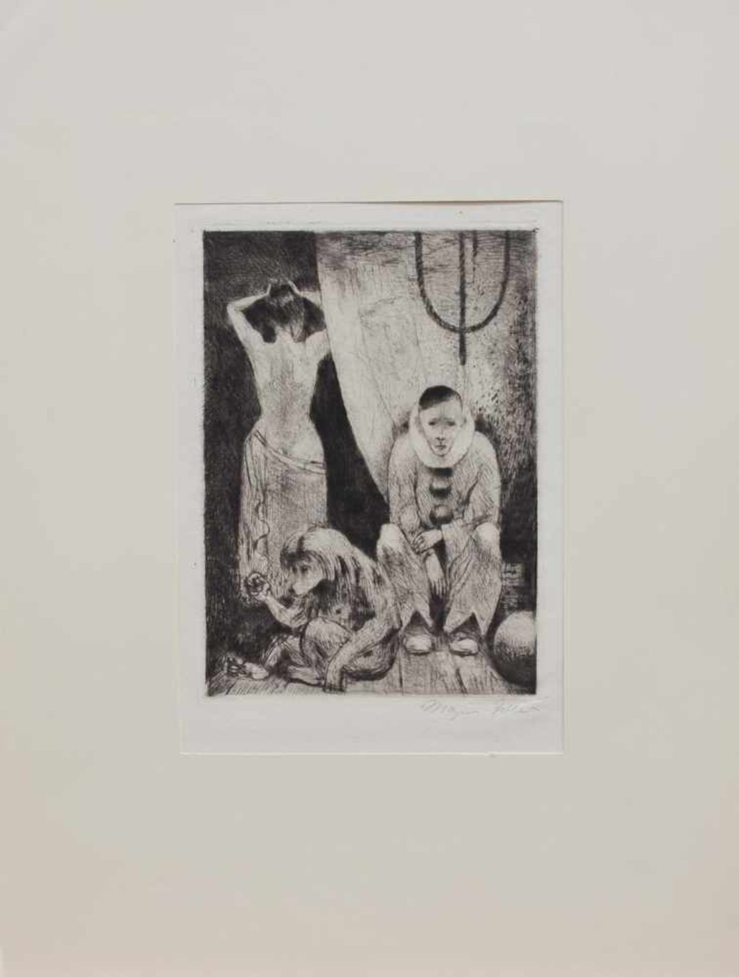 Los 57 - Magnus Zeller (Biesenrode 1888 - 1972 Berlin, deutscher Maler u. Grafiker, Std. d. Malerei u.