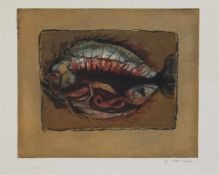 Peter Loeding (Hamburg 1936 - 2013 ebenda, deutscher Maler, Grafiker u. Zeichner, Std. d.