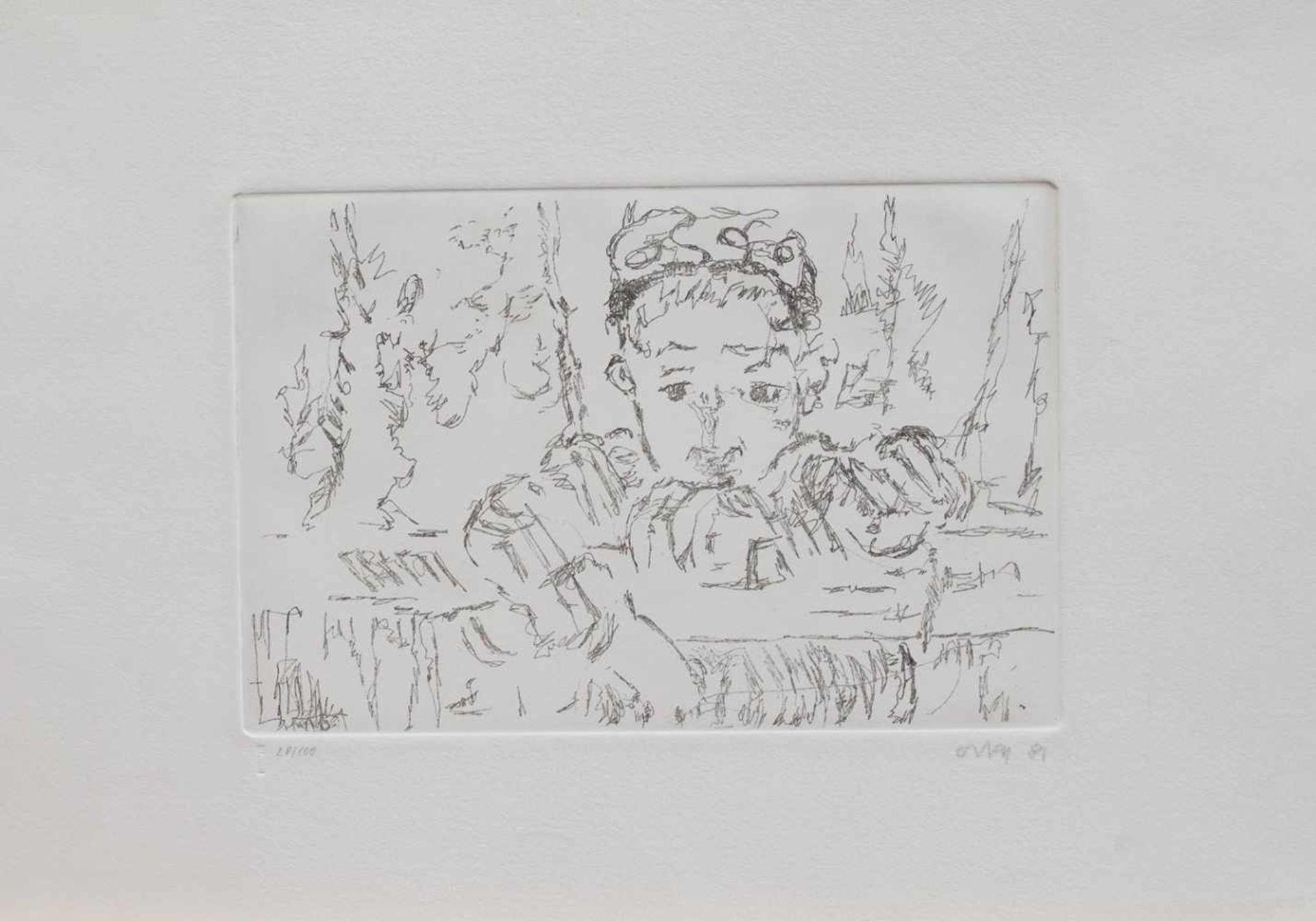 Los 29 - Oskar Matulla (Wien 1900 - 1982 Wien, österreichischer Maler u. Grafiker, Std. a.d.