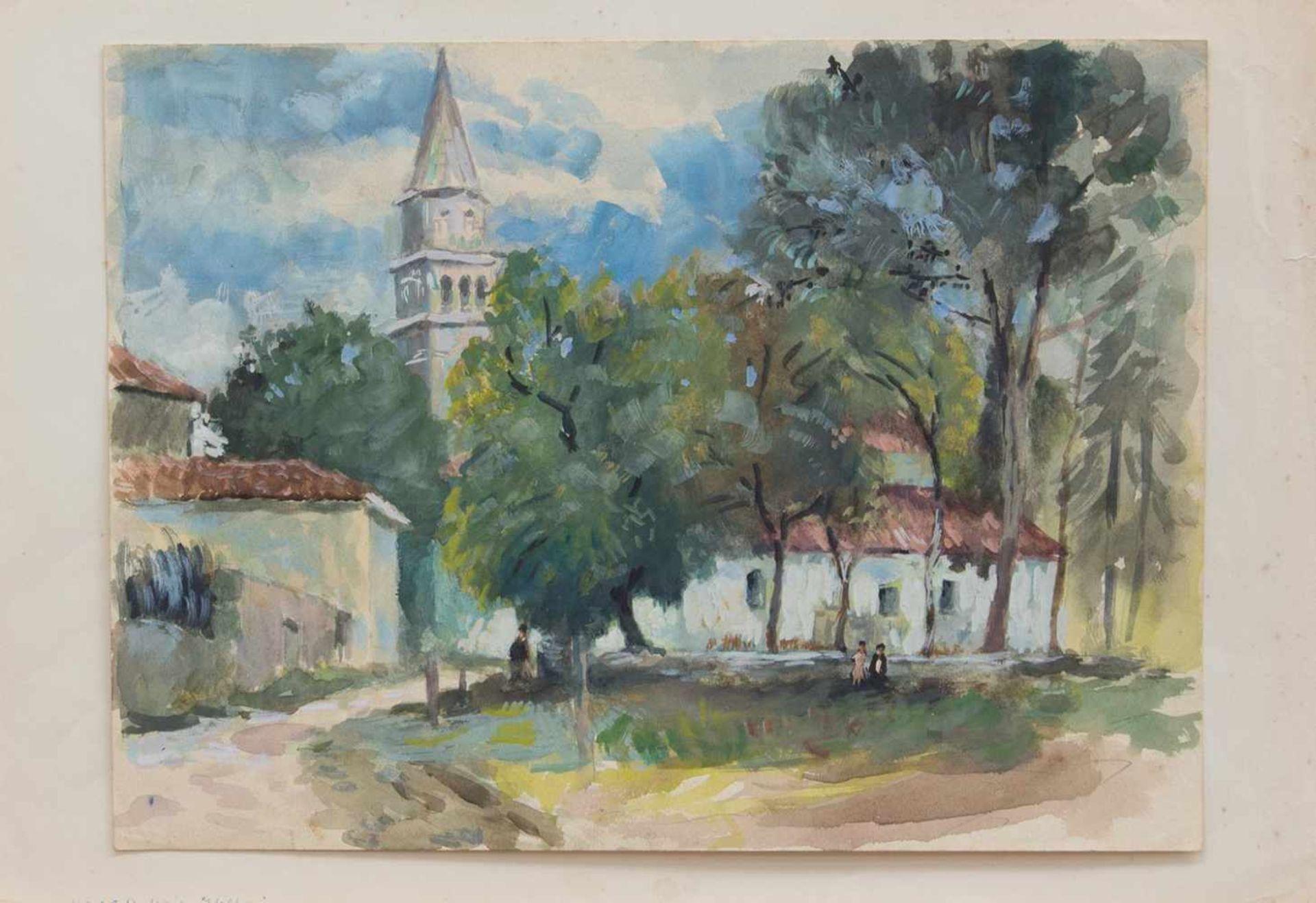 Los 7 - Heinz Dubois (Schwirgsten 1914 - 1966 Wismar, deutscher Maler, Std. a.d. AK d. Künste Königsberg u.