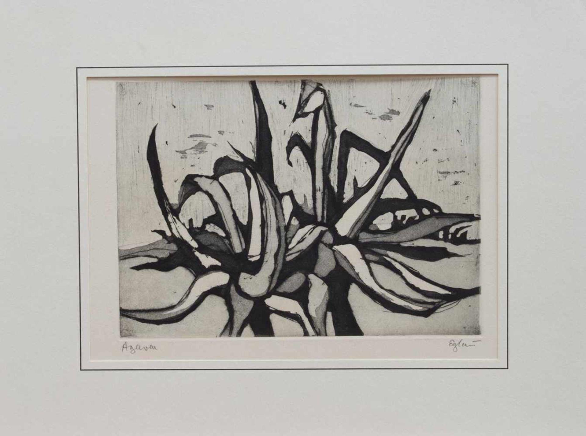 Los 11 - Otto Wilhelm Eglau (Berlin 1917 - 1988 Kampen, deutscher Maler u. Grafiker, Std. a.d. HS f. Bildende