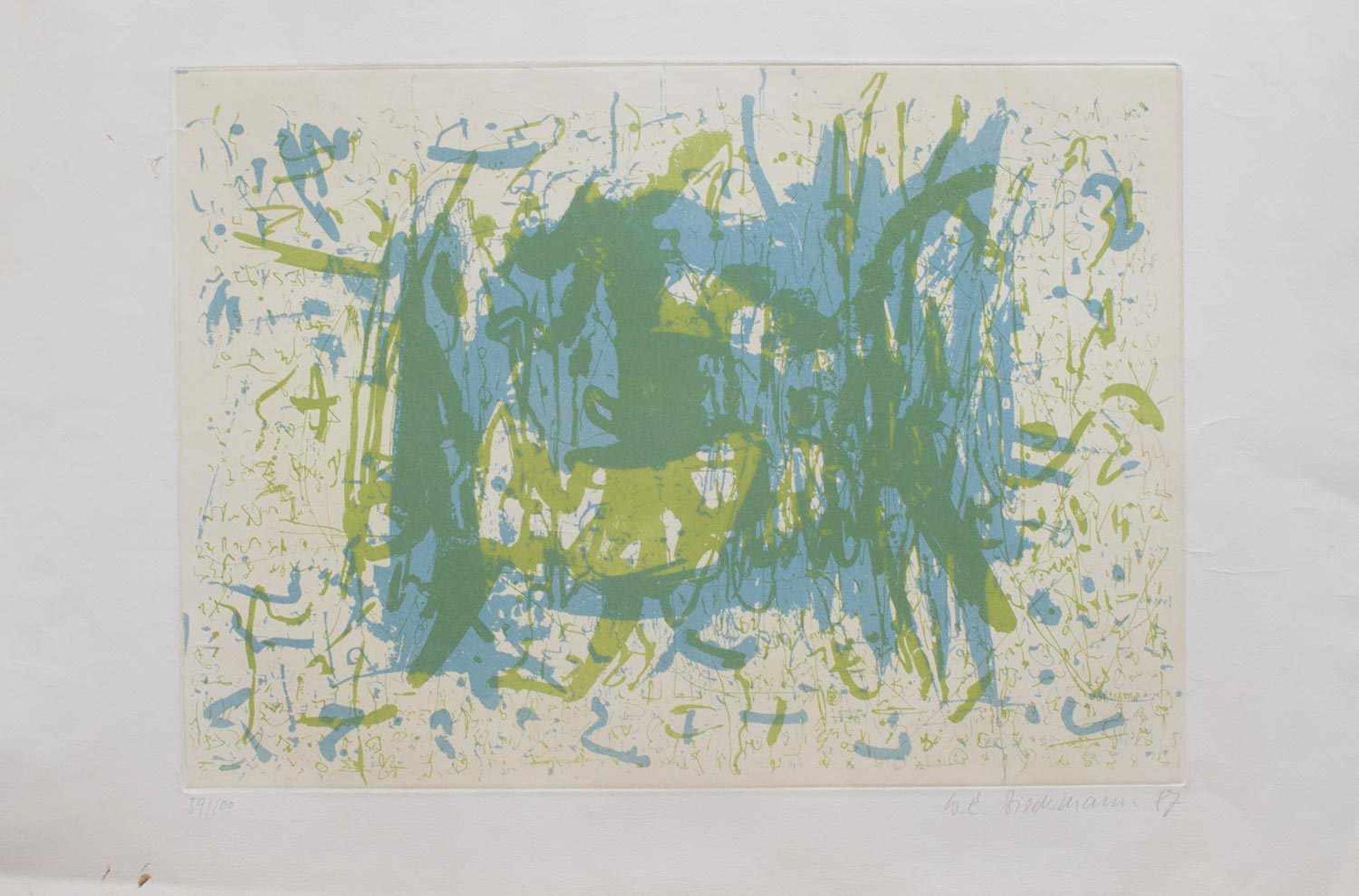 Los 6 - Wolgang E. Biedermann (Plauen 1940 - 2008 Leipzig, deutscher Maler u. Grafiker, Std. a.d. HS f.