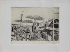 Dietmar Lembcke (Goldap/ Ostpreussen 1930 -, deutscher Maler u. Grafiker, Std. a.d. HS f. Bildende