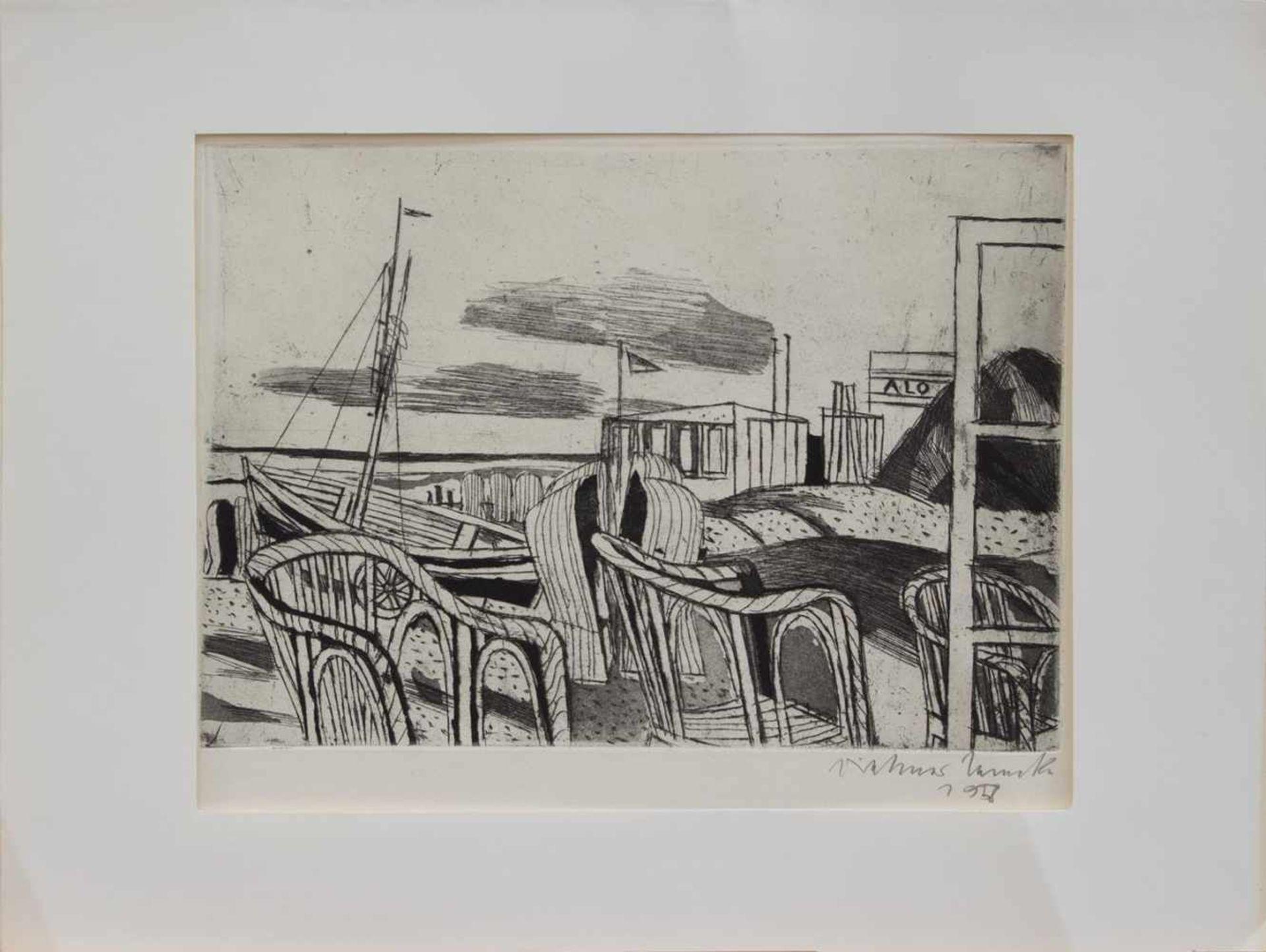 Los 23 - Dietmar Lembcke (Goldap/ Ostpreussen 1930 -, deutscher Maler u. Grafiker, Std. a.d. HS f. Bildende